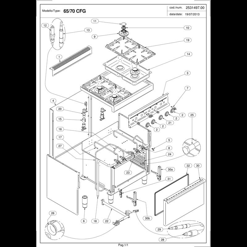 gasherd 4 brenner gastronomiebedarf i online bei. Black Bedroom Furniture Sets. Home Design Ideas